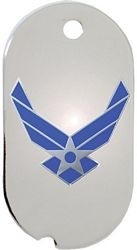 United States Air Force Symbol Dog Tag Necklace