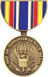 Global War on Terrorism Service Pin HP520 (1 1/8 inch)