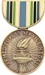 Armed Forces Service Pin HP511 (1 1/8 inch)