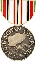 Afghanistan Campaign Pin HP524 (1 1/8 inch)