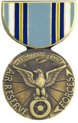 Air Reserve Forces Meritorious Service Pin HP406 (1 1/8 inch)