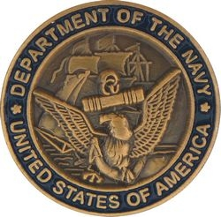 Department of the Navy United States of America Pin (5/8 inch)