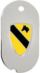 1st Cavalry Division Dog Tag Necklace