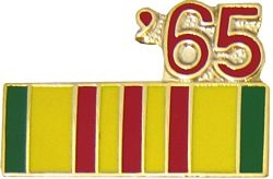1965 Vietnam Ribbon Pin (7/8 inch)