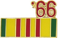 1966 Vietnam Ribbon Pin (7/8 inch)