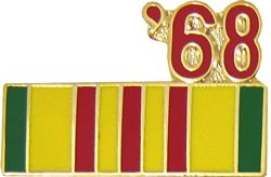 1968 Vietnam Ribbon Pin (7/8 inch)