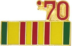1970 Vietnam Ribbon Pin (7/8 inch)