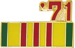 1971 Vietnam Ribbon Pin (7/8 inch)