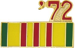 1972 Vietnam Ribbon Pin (7/8 inch)