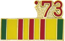 1973 Vietnam Ribbon Pin (7/8 inch)