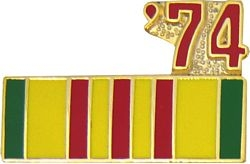 1974 Vietnam Ribbon Pin (7/8 inch)