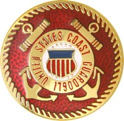 United States Coast Guard Insignia Pin (3/4 inch)