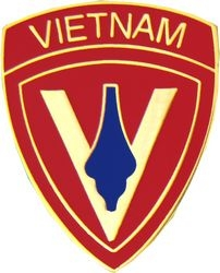 5th Marine Division Vietnam Pin (1 inch)