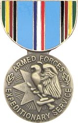 Armed Forces Expeditionary Pin HP411 (1 1/8 inch)