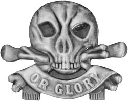 Death or Glory Pin (1 1/4 inch)