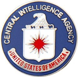 Central Intelligence Agency (CIA) Pin (1 inch)