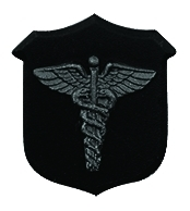 Corpsman Pin - BLACK
