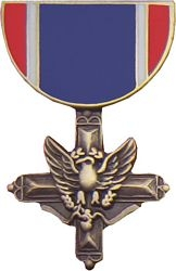 Army Distinguished Service Cross Pin HP443 (1 1/8 inch)