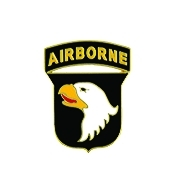 101st Airborne Division Pin (5/8 inch)