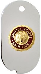 United States Marine Corps Dog Tag Necklace