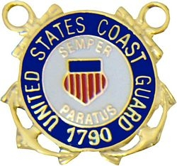 United States Coast Guard 1790 Insignia Pin (7/8 inch)