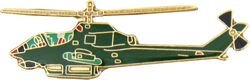AH-1G Cobra Helicopter Pin (1 1/2 inch)