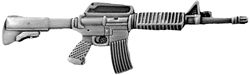 AR-15 Weapon Large Pin (2 1/4 inch)