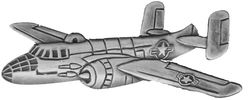 B-25 Aircraft Large Pin (2 1/2 inch)