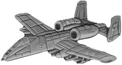 A-10 Aircraft Large Pin (2 1/2 inch)