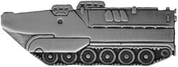 LVT Amphibious Assault Vehicle Large Pin (2 inch)