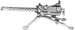 1919 M-G Weapon Large Pin (2 1/4 inch)