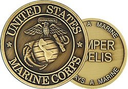 United States Marine Corps Insignia Challenge Coin (38MM inch)