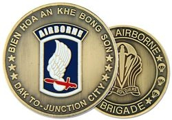 173rd Airborne Division Challenge Coin (38MM inch)