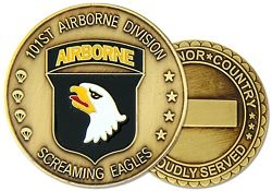 101st Airborne Division Challenge Coin (38MM inch)