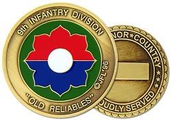 9th Infantry Division Challenge Coin (38MM inch)