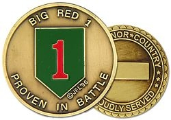 1st Infantry Division Challenge Coin (38MM inch)