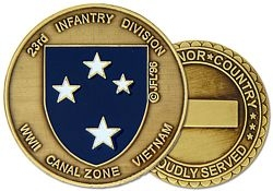 23rd Division Americal Challenge Coin (38MM inch)