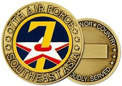7th Air Force Challenge Coin (38MM inch)
