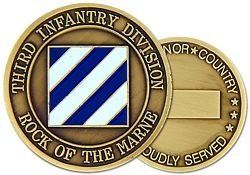 3rd Infantry Division Challenge Coin (38MM inch)