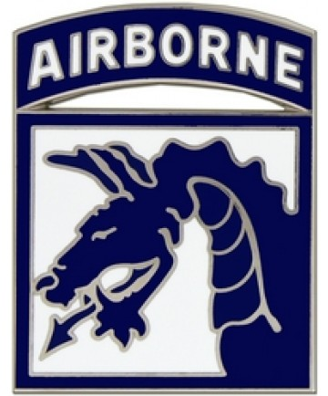 18th Airborne Division Combat Service Badge (2 inch)