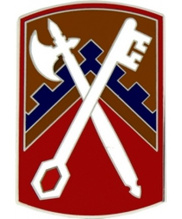 16th Sustainment Brigade Combat Service Badge (2 inch)
