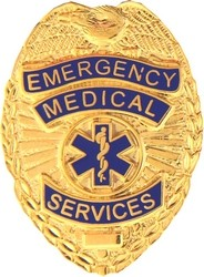 Emergency Medical Services (EMS) Badge (1 1/8 inch)