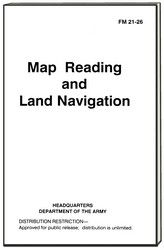 Map Reading and Land Navigation Military Manual