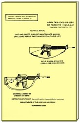 M16 A2 and Carbine Military Manual