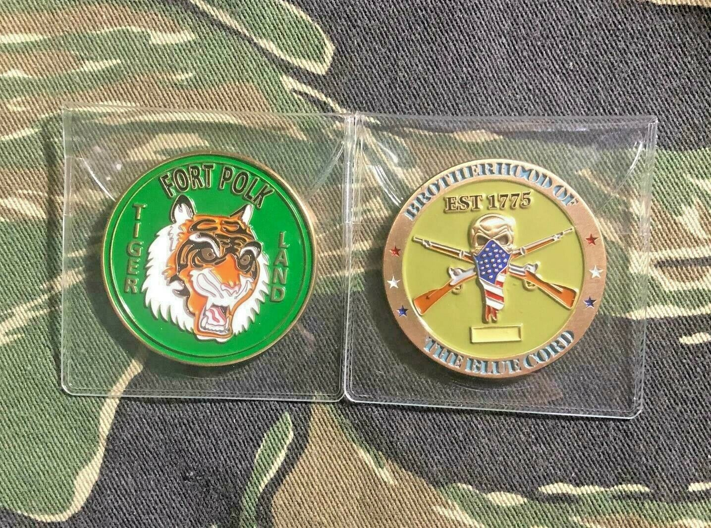 FORT POLK CHALLENGE COIN