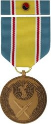 Korean War Service Commemorative Medal and Ribbon (1 5/16 inch)