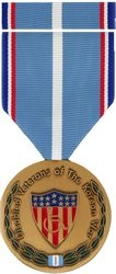 Disabled Korean Veteran Commemorative Medal and Ribbon