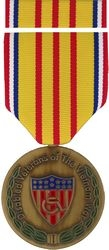Vietnam Disabled Veteran Commemorative Medal and Ribbon