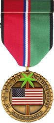 Kuwait Liberation Commemorative Medal and Ribbon