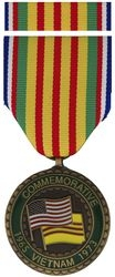Vietnam War Commemorative Medal and Ribbon